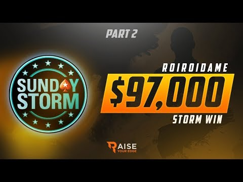 RYE Review: RoiRoiDame Sunday Storm $100,000 Win Pt. 2