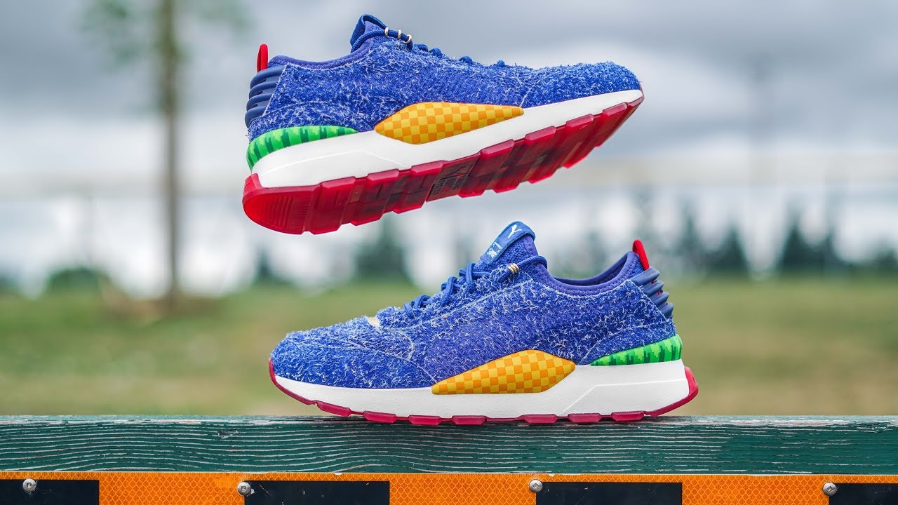 Can This Sonic Shoe Make You Run Faster Puma X Sonic The Hedgehog Rs 0 On Foot Review Youtube