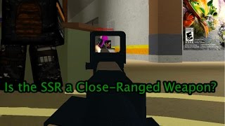 Roblox Phantom Forces - Is the SSR a Close-Range Weapon?