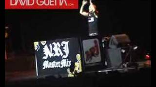David Guetta - Madonna Concert Opening, Paris, 2006