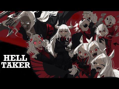 Ключ к сердцу демона лежит через блины?! ● Helltaker // Все концовки + секреты