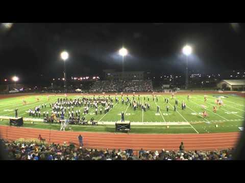 Walker Valley High School Mustang Band Oct 26,2013