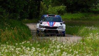Jan Kopecký - test před Rallye Český Krumlov 2018