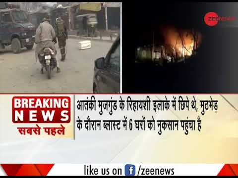 3 terrorists killed by Army in an encounter in Jammu and Kashmir
