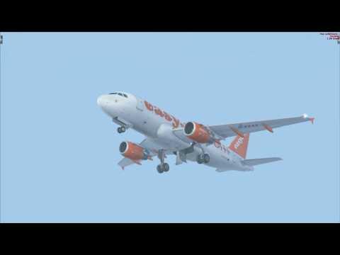 ParisOrly à  Nice en Airbus A19 easyJet 6 novembre 2016