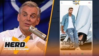 Colin Cowherd plays 'QB Tinder' to choose which teams should commit to their QBs   NFL   THE HERD