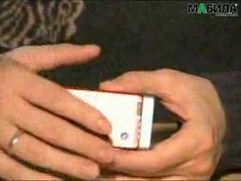 Sony Ericsson W910i - видеообзор