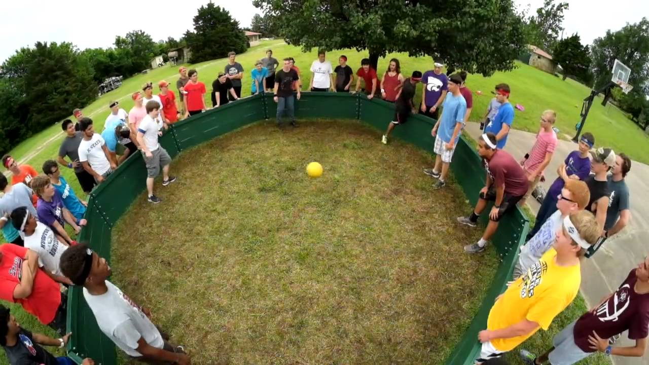 how to make a gaga ball pit
