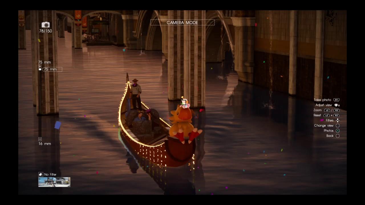 FINAL FANTASY XV CARNIVAL DLC - THE THIRD MOOGLE LOCATION (The brothers  Kupomasov)