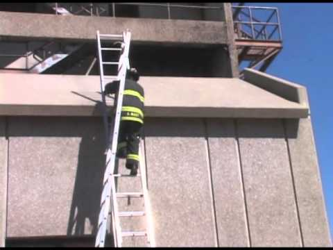 Denver Fire Department Roof Ladder Youtube