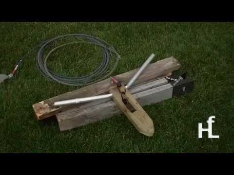 Make A Roping Dummy Inexpensive Diy Youtube