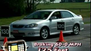 Motorweek Video of the 2005 Toyota Corolla