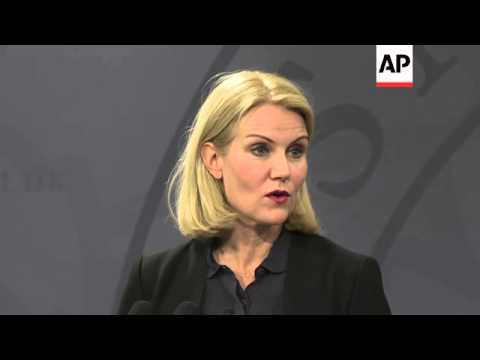 Danish Prime Minister Helle Thorning-Schmidt said on Monday the perpetrator in the weekend's shootin