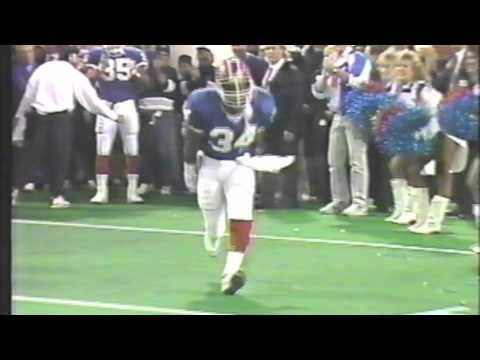 Thurman Thomas Super Bowl 26 Intro