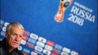 🔴 Suivez en direct la conférence de presse de Didier Deschamps et d'Hugo Lloris