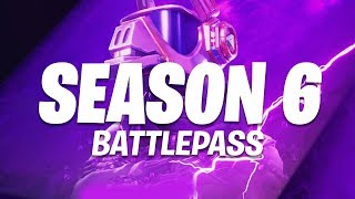 NEU - Fortnite Season 6 Battle Pass (Fortnite Saison 6)