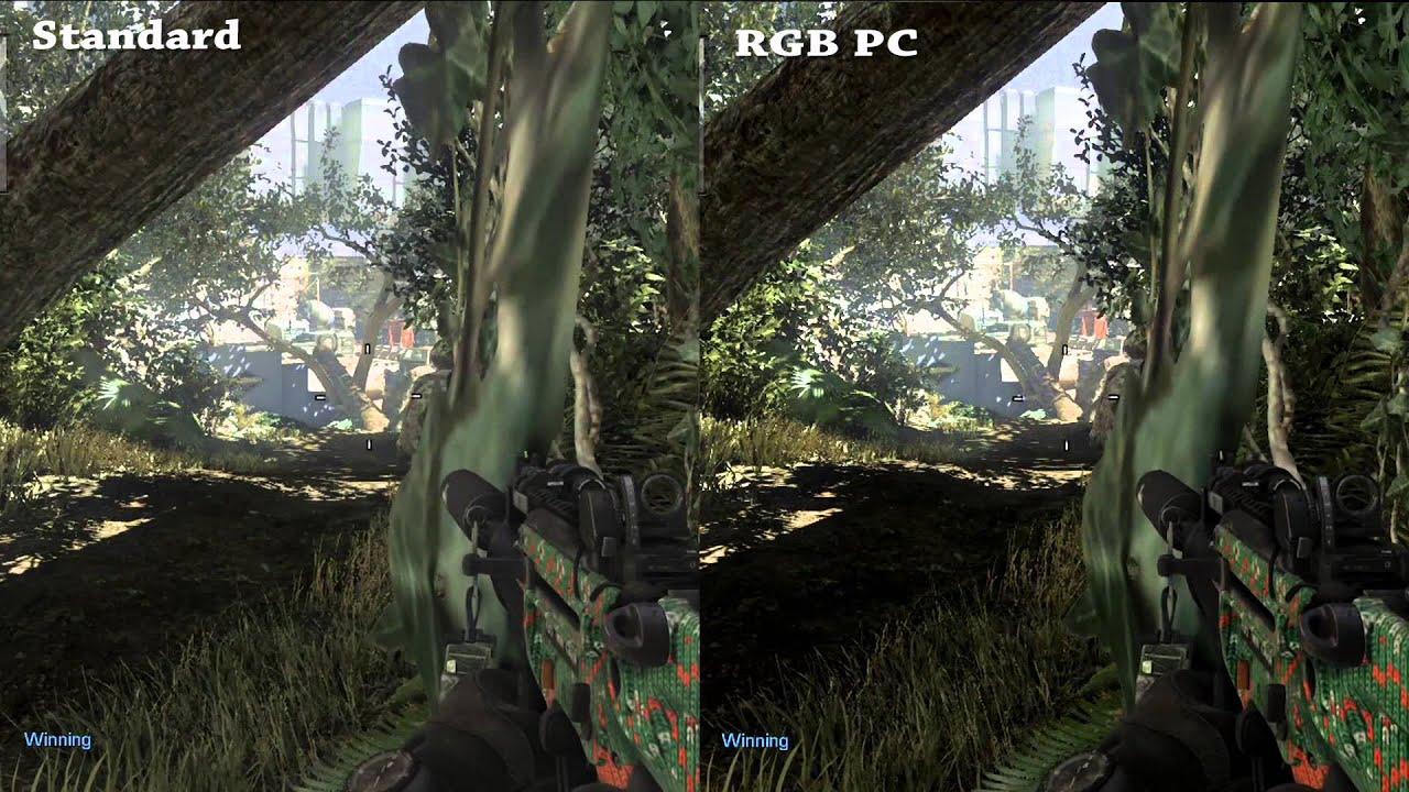 HDMI Standard VS PC RGB Settings Xbox One