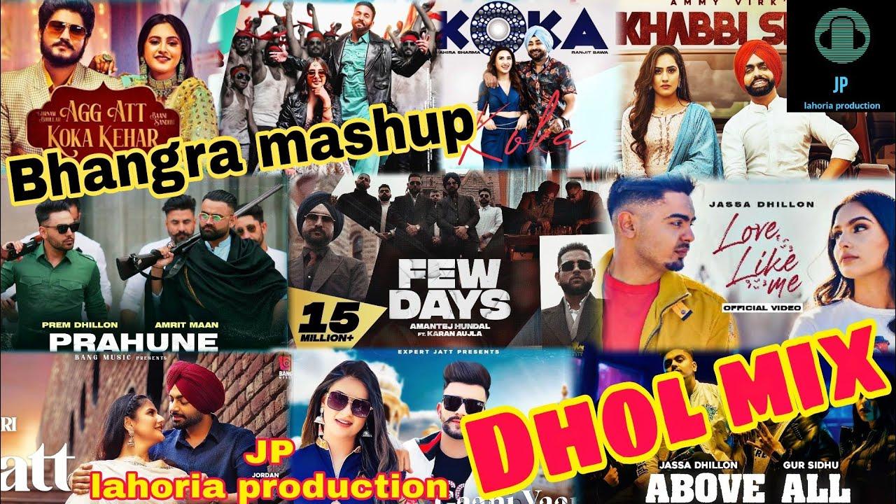 Download New punjabi non stop bhangra mashup Dhol mix april 2021 Ft JP lahoria production