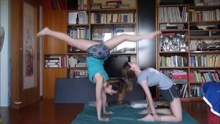 YOGA CHALLENGE By Campi Sisters