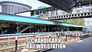 Chandigarh junction railway station   cdg   Northern railways   Indian railways   Irctc  