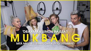#SQUADSUNDAY: MCDONALD'S MUKBANG | Valtteri, naaG, UinoAino & Ananasraaste