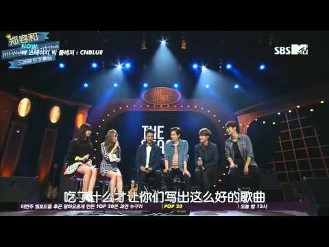 140305 MTV The Stage Big Pleasure - CNBLUE 中字