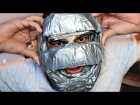 100-layers-of-duct-tape-on-face!!