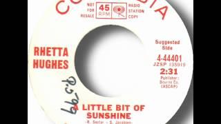 Rhetta Hughes - A Little Bit Of Sunshine.wmv