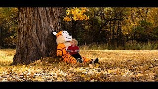 ADVENTURES WITH CALVIN AND HOBBES | REAL LIFE COMIC STRIP | HALLOWEEN EPISODE | AN ADVENTURE DAILY