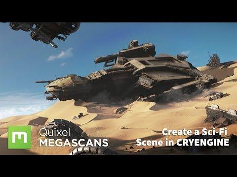 Create an Epic Sci-Fi Landscape in CryEngine