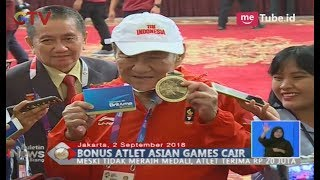 Jokowi Tepati Janji, Bambang Hartono akan Serahkan Bonus untuk Atlet Bridge Masa Depan - BIS 03/09