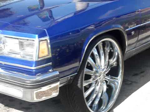 "1985 BUICK LESABRE ON 28"" RIMS - YouTube"