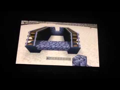 how to make a fish tank in minecraft xbox 360