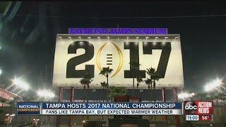 Tampa hosts 2017 National Championship