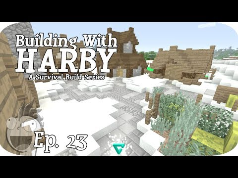 Building With Harby - HOW TO DECORATE A VILLAGE! Ep 23