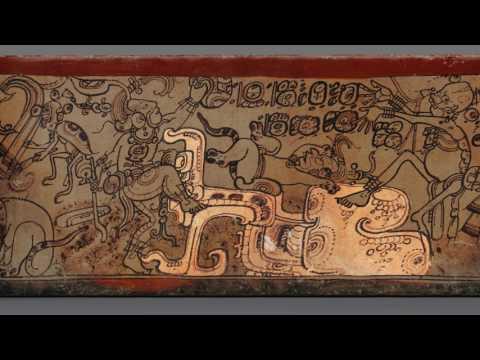 Vessel with a mythological scene (Maya)