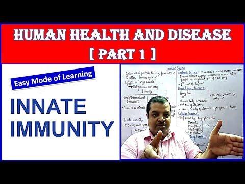 Immune System Innate Immunity | Human Health and Disease | NEET Bio | Part - 1