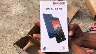 Karbon Platinum P9 Pro Unboxing