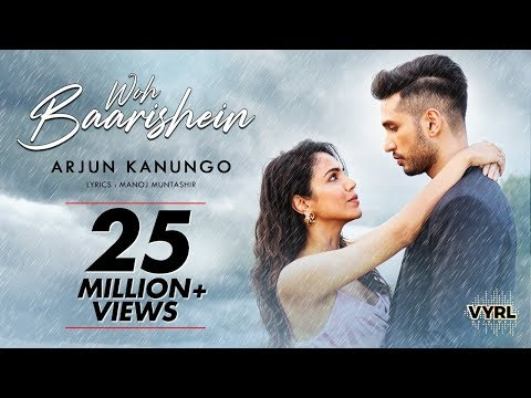 woh-baarishein---arjun-kanungo-|-manoj-muntashir-|-ft.-shriya-pilgaonkar-|-official-music-video