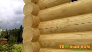 Теплый шов для деревянных домов(Компания Теплый Дом, оказывает услугу герметизации срубов и деревянных домов. Мы делаем теплый шов в Москве..., 2016-04-02T00:18:23.000Z)