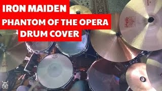 Iron Maiden - Phantom of The Opera Drum Cover