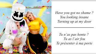 Marshmello Anne Marie FRIENDSLyrics Traduction en Fran ais.mp3