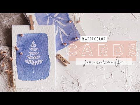 15-minute-watercolor-cards-|-faux-sun-prints-ep-7