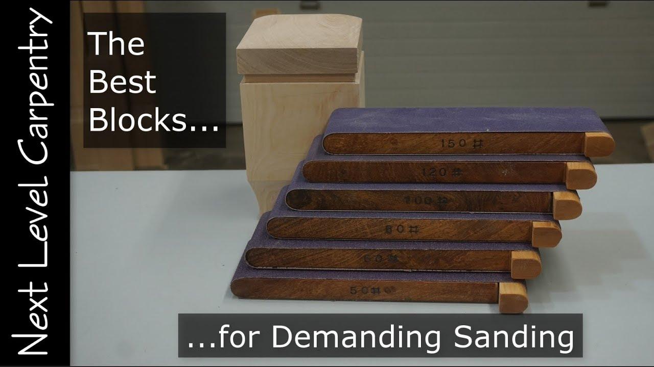 best blocks for demanding sanding
