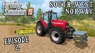 Let's Play Farming Simulator 2015 | South West Norway | Episode 2