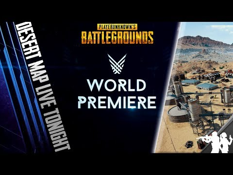 WE GET THE PUBG DESERT MAP TONIGHT! The Game Awards PUBG Reveal Trailer & Official 1.0 Release Date
