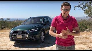 Обзор и тест-драйв Audi Q5 2017 // АвтоВести Online