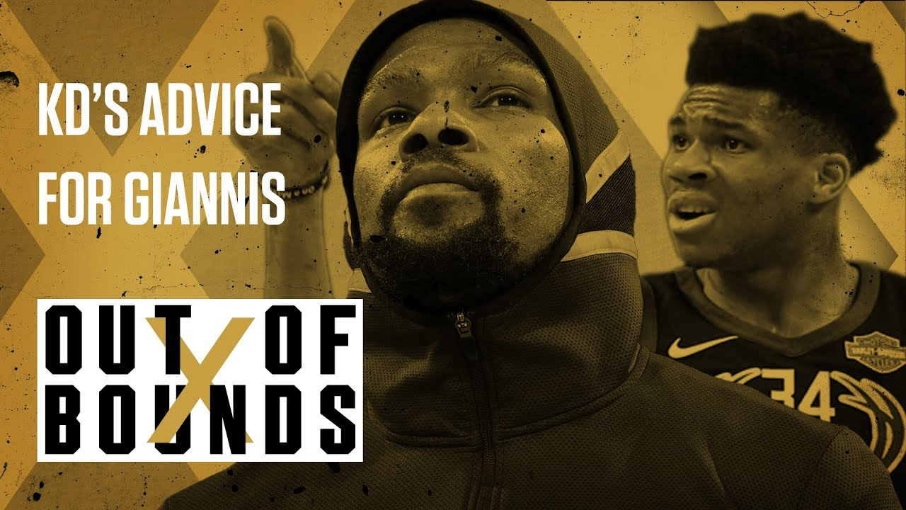 Kevin Durant Gives Giannis Antetokounmpo Advice | Out of Bounds