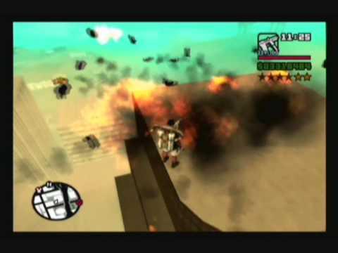 GTA San Andreas: Huge Explosions