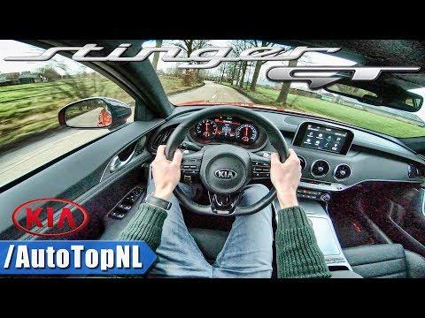 Kia Stinger GT 3.3 V6 BiTurbo POV Test Drive by AutoTopNL